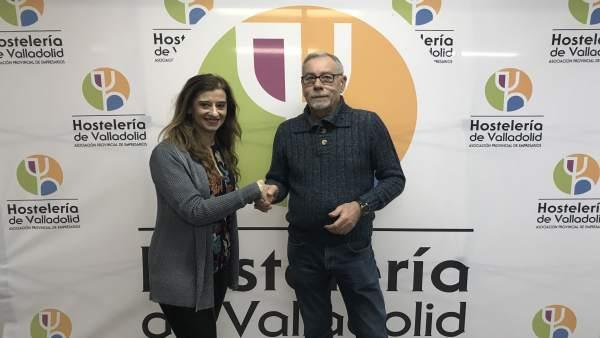 María José Hernández y Ángel González Somoza