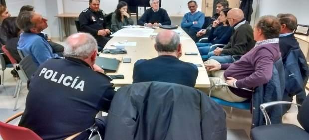 Reunión sobre el Plan de Nevadas de Ávila.