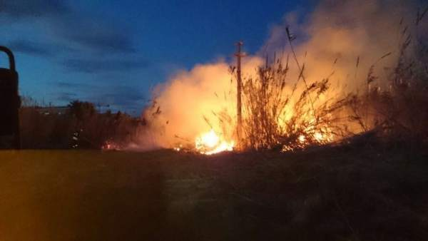 Incendio en Dénia