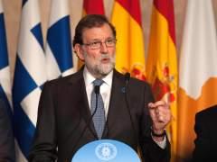 """Rajoy, sobre Puigdemont: """"El 155 seguirá en vigor si el nuevo presidente no toma posesión"""""""