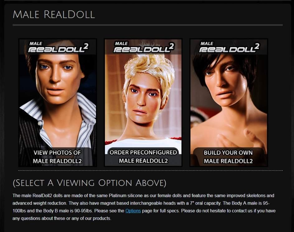 Los robots sexuales masculinos con pene biónico estarán a la venta este año