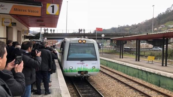 Primer tren de Gas Natural Licuado en Asturias