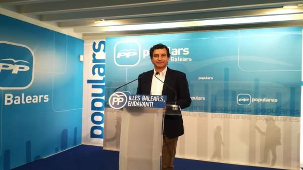 El Presidente Del Pp Balear, Biel Company