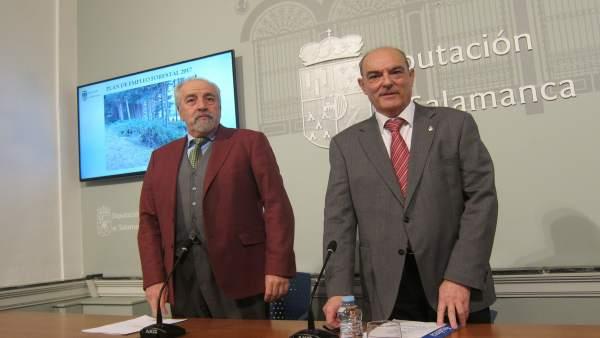 Pedro Grijalba y Manuel Rufino García.