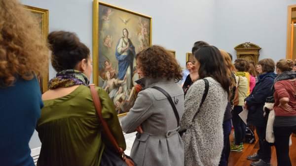 El Museu de Belles arts de València rep prop de 140.000 visitants en 2017, un 5% més