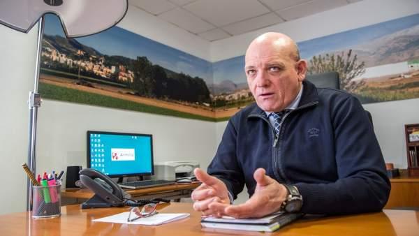 El presidente de Fermasa y alcalde de Armilla, Gerardo Sánchez.