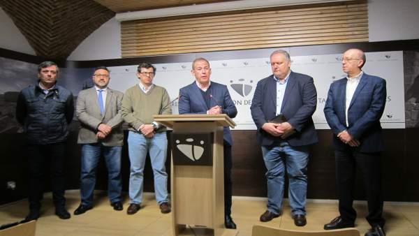Balance de gestión del PP de Diputación de Cáceres