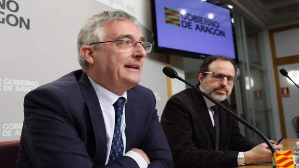Olona presenta una nueva convocatoria de subvenciones modernización de regadíos.