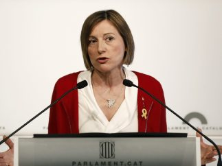 Forcadell renuncia a presidir el Parlament