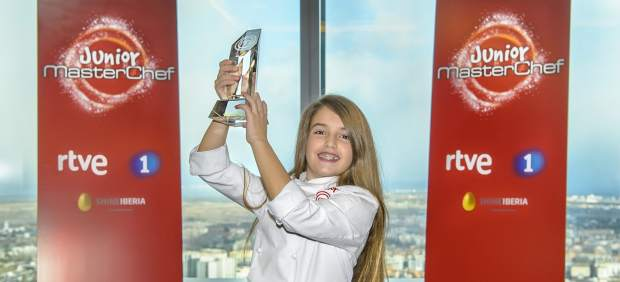 Esther Requena 'Masterchef Junior 5' ganadora