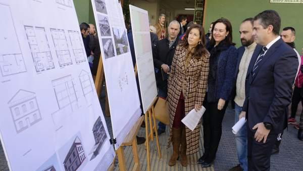 Presentación de proyectos. Martin Rojo, Cortés, Del Corral y Conde