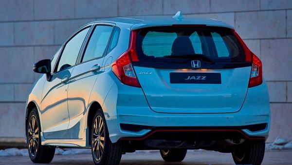 Maletero del Honda Jazz con una capacidad de 354 litros