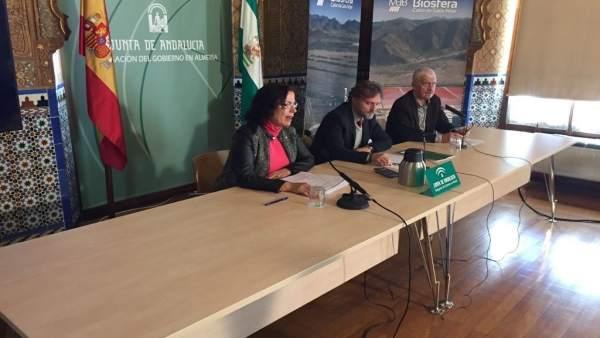 Fiscal, en rueda de prensa en Almería