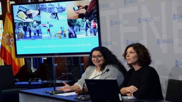 Nota De Prensa Y Fotografía: Accesibilidad Ayuntamientos
