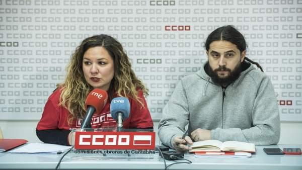 Conchi Sánchez y José María Ruiz
