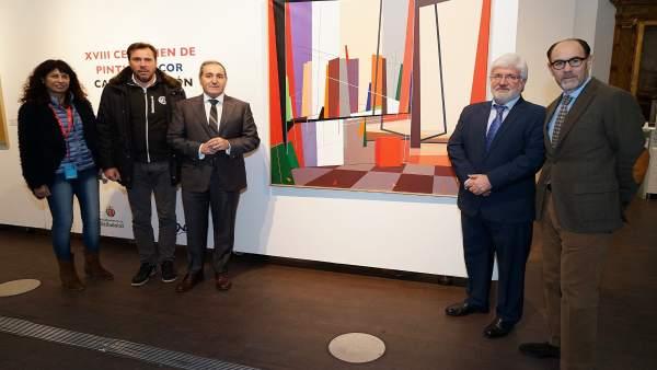 Valladolid.- Pintura ganadora del certamen de Acor