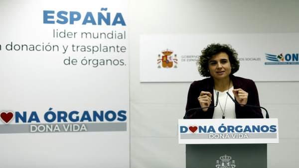 Dolors Montserrat presenta el balance de donaciones y transplantes