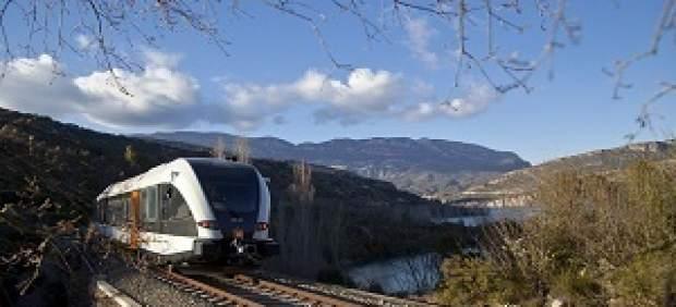 Tren FGC de la línea Lleida-La Pobla de Segur