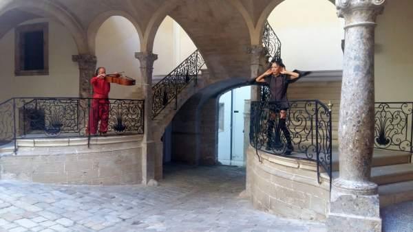 Espectáculo de música y danza en el Casal Solleric