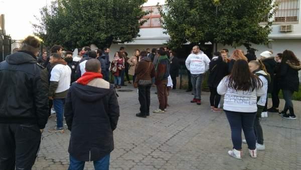 Movilización en el Distrito Macarena