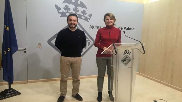 Margalida Durán y Fernando Rubio