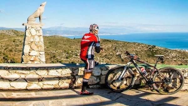 Cañada del lobo ciclista rural ocio ciclismo turismo torremolinos