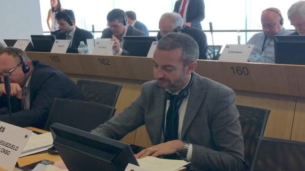 Manuel Pleguezuelo durante una sesión