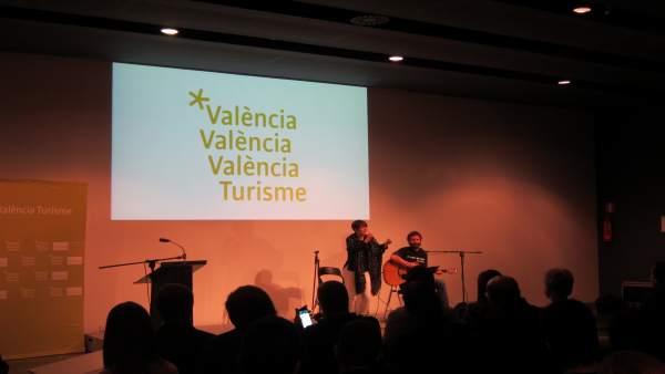 Presentación del vídeo promocional de Turisme València La vida espera