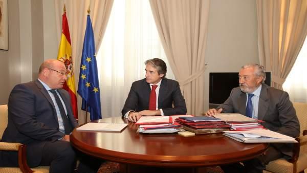 El alcalde de Jaén y el ministro de Fomento