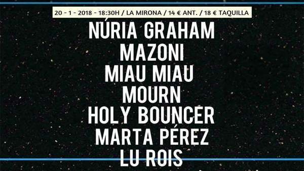 El Festival Neu! de Girona regresa este enero con Núria Graham, Mazoni