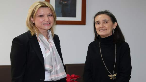 La nueva jefa de Tráfico en Huelva, Cristina Gago.