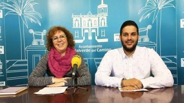 La portavoz del PSOE en Valverde, Ascensión Castaño.