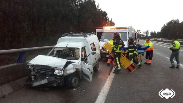 Accidente tráfico Villaviciosa