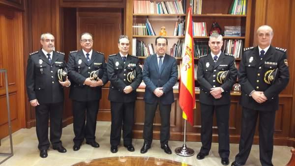 Fotos De La Presentación Oficial Hoy De Los Nuevos Comisarios
