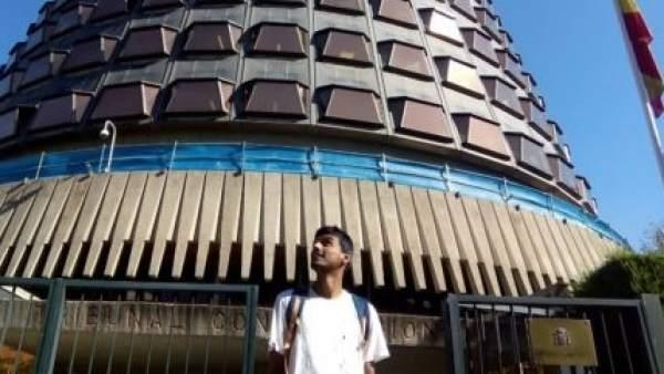 Zeshan Muhammad, frente al Tribunal Constitucional