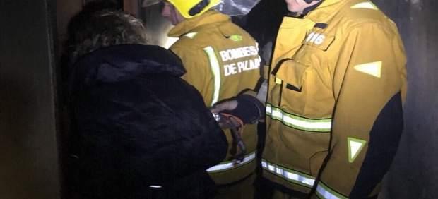 Incendio en un edificio de Palma