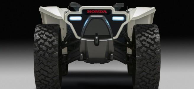 3E-D18: Una especie de quad de Honda