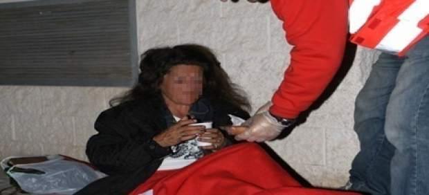 Atención de Cruz Roja a personas sin hogar