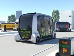 Toyota desvela el e-Palette, un prototipo autónomo, eléctrico, personalizable y escalable