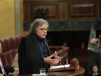 Joan Tardà en el Congreso