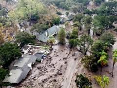 Deslizamientos en Montecito