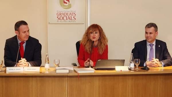 La presidenta del Colegio de Graduados Sociales de Baleares
