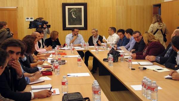 Adrián Barbón preside la Ejecutiva de la FSA-PSOE