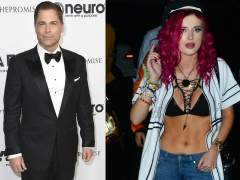 Rob Lowe y Bella Thorne