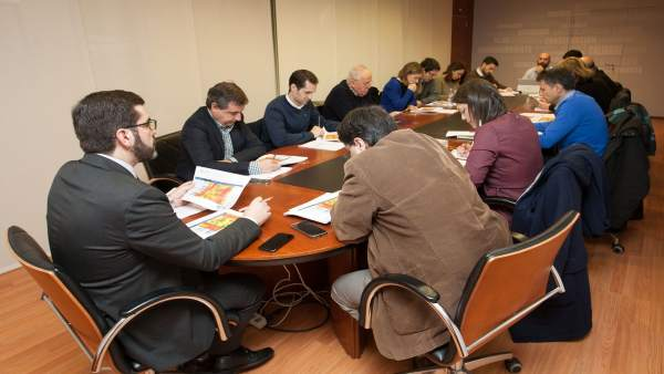 Augas de Galicia, reunión de la oficina técnica de la sequía