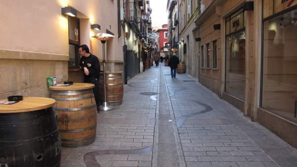 Imagen De La Calle Laurel De Logroño