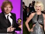 Ed Sheeran y Taylor Swift
