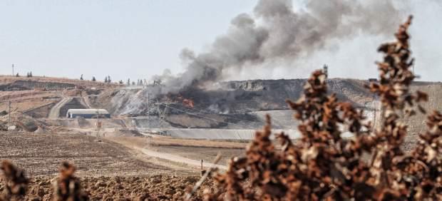 Incendio de la planta de reciclaje