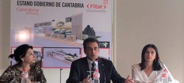 Presentanción del stand de Cantabria en Fitur