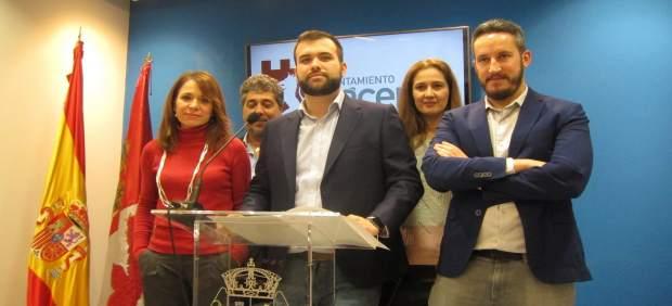 Balance de gestión del PSOE en el Ayuntamiento de Cáceres